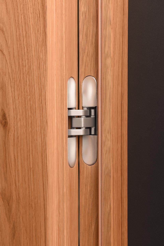 Porte Interne Color Ciliegio porte acustiche per interni in legno massello - alto adige